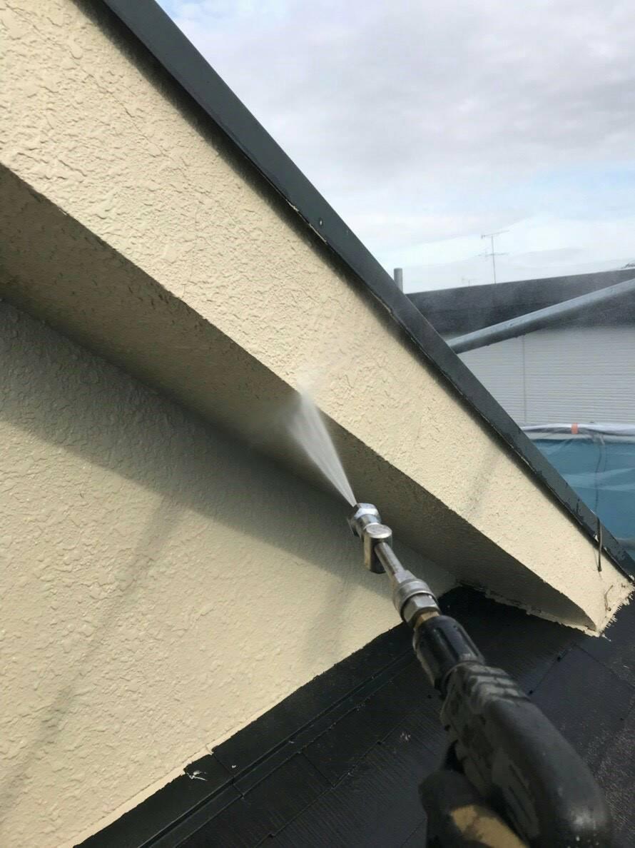 高圧洗浄 天井